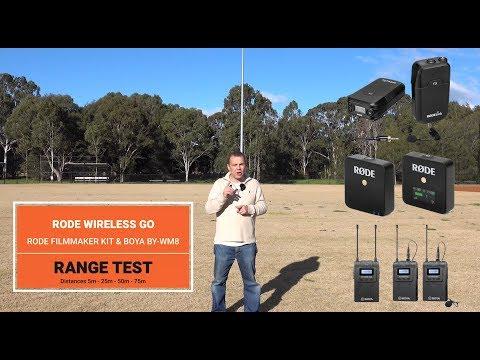 Rode Mic Go Review Range Test Vs Filmmaker Kit And Boya By Wm8