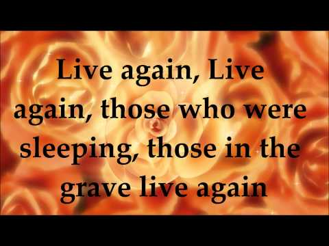 Song of Ezekiel - Paul Wilbur - Lyrics - Your Great Name 2013