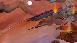 Cartoon über den Ursprung des Lebens: O als Ursprung