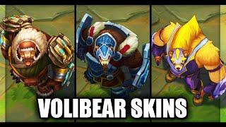 All OLD Volibear Skins Before Rework (League of Legends)