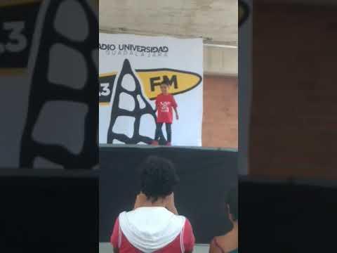 Robot del rap en llamas (radio Universidad de guadalajara)