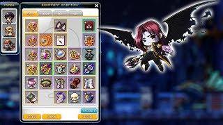 MapleStory - My Demon Slayer Equipment! My Current Equipment [GMS] [Windia]