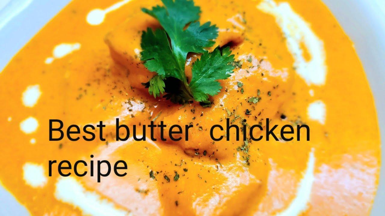 Butter Chicken recipe/How to make butter chicken / रेस्टोरॅट बटर चिकन