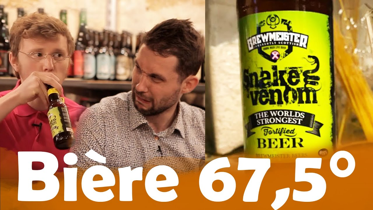 Bière 4° VS Bière 67,5° avec Jojo Bernard