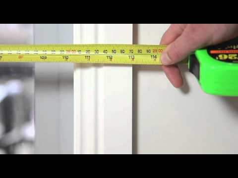 How To Measure Doors and Windows for Roller Blinds