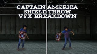 Captain America Shield Throw a…