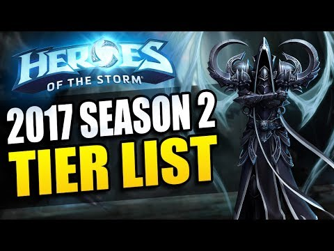 Nubkeks' Heroes of the Storm Tier List // Malthael Patch - 2017 Season 2