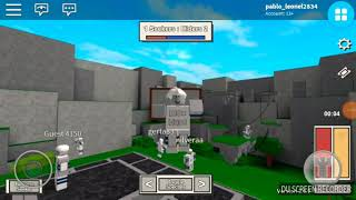BLUE vx RED - Roblox (Chasse au Blox