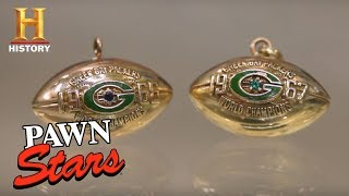 Pawn Stars: Green Bay Super Bowl Pendants | History