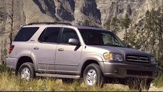 2001 Toyota Sequoia Start Up, Road Test, and Review 4.7 L V8