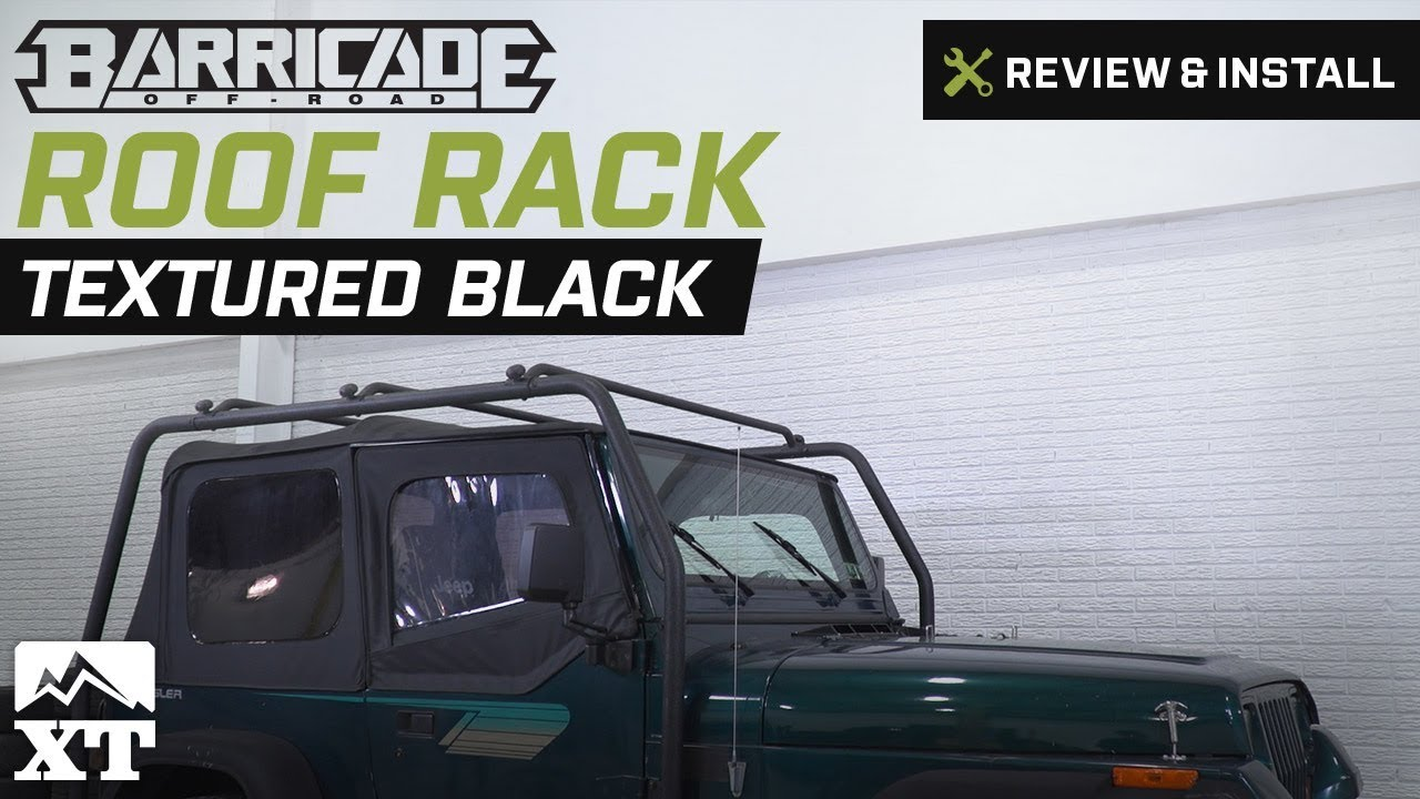 Jeep Wrangler Barricade Roof Rack (1987-1995 YJ) Review & Install