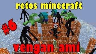 TODOS LOS MUTANTES VS EL MATADOR| RETOS MINECRAFT #6