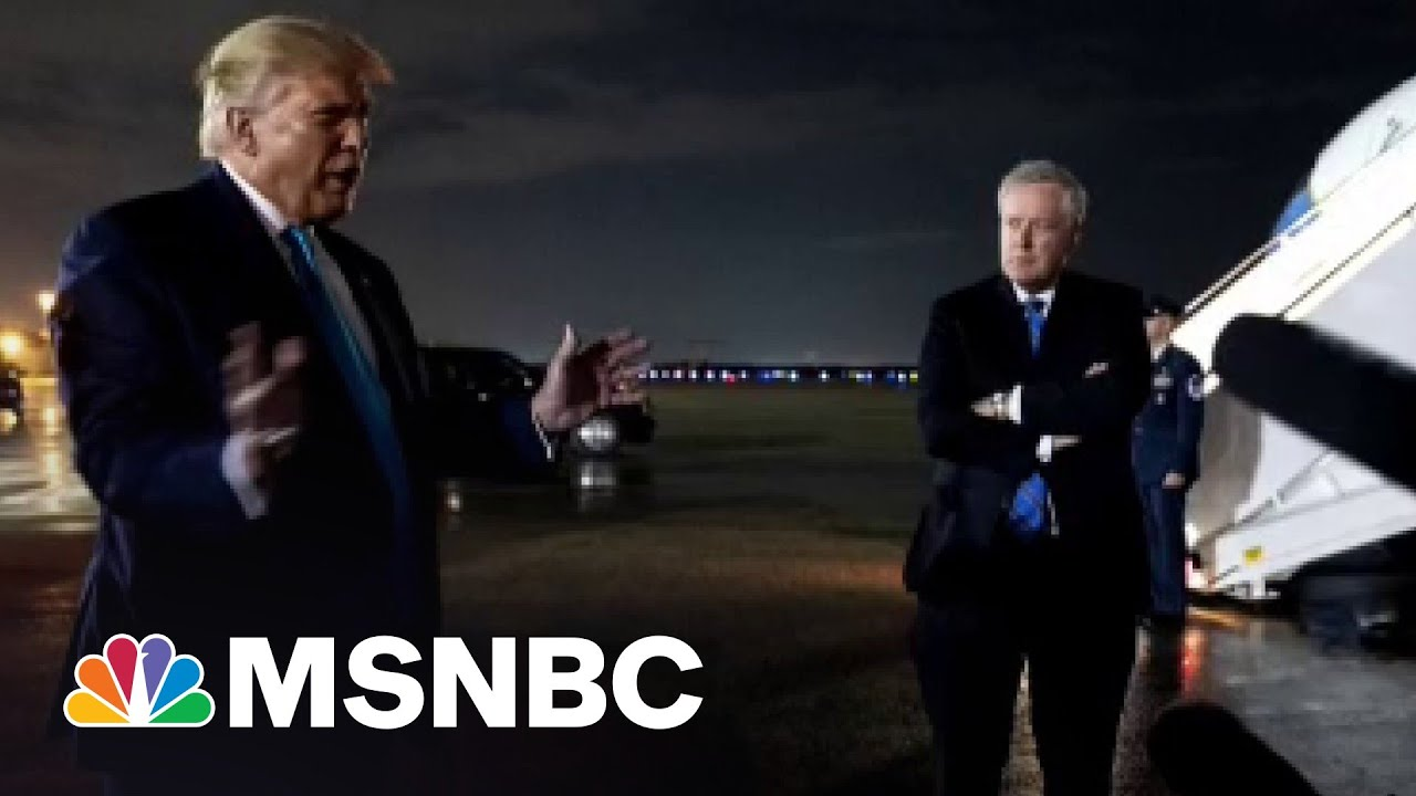 Emails Detail Trump's Frantic Effort To Steal 2020 Election