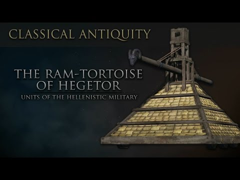 Units of Classical Antiquity: The Ram Tortoise of Hegetor (Siege Equipment)