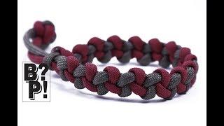 "Make the ""Zig Zag"" Paracord Bracelet with Mad Max Closure - BoredParacord.com"