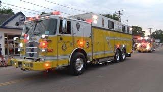 2015 Potomac River Festival Fire/Rescue Parade  6/12/15