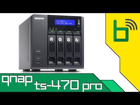 QNAP TS-470 Pro: Servidor Multimídia x86 com processador Core i3