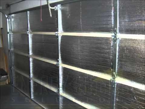 Garage Door Insulation Panels Youtube