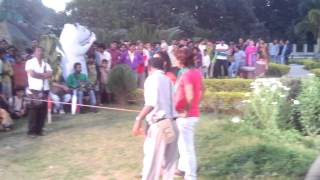 Bhojpuri Song Suting At Patna Ecco Park