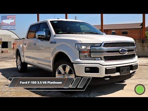 Ford F-150 3.5 V6 Platinum 2019: il test-drive del pick-up più venduto in America