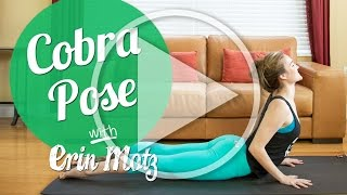 Cobra Pose Tutorial (Beginner)