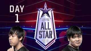 League of Legends 2018 All Star Day 1