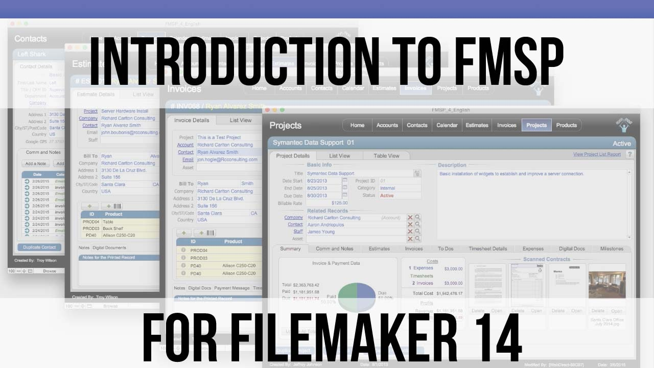 Introduction To Fm Starting Point For Filemaker 14