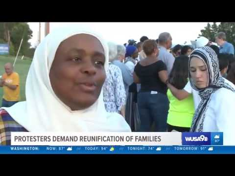 Video: CAIR Joins Call for Family Reunification Outside Virginia Immigrant Holding Facility
