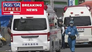 16 Stabbed in Japan Mass Stabbing Attack - LIVE BREAKING NEWS COVERAGE