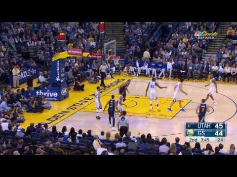 Utah Jazz vs Golden State Warriors || FULL HIGHLIGHTS || Apr 10, 2017 || NBA