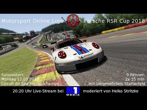 MOL Porsche Cup - Spa [Assetto Corsa]