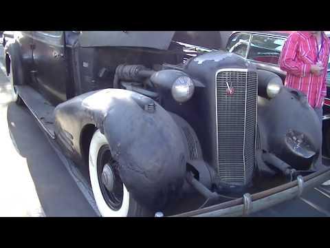 1936 Cadillac V 16 Seven Passenger Limousine Bullet Proof Barn Find