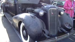 1936 Cadillac V-16 Seven-Passenger Limousine Bullet Proof Barn Find! Time Capsule so cool! Gangster?