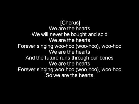EXGF - We are the hearts (Lyrics)