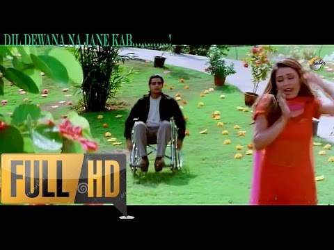 Dil Diwana Na Jane Kab - Daag: The Fire (1080p HD Song)
