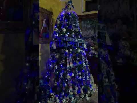 Albero Di Natale A Napoli.Albero Di Natale Del Napoli Youtube