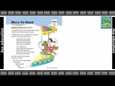Poem 5 Merry Go Round (English - Marigold, Grade 1, CBSE) Poem in Easy Hindi/English