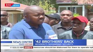 42 Brothers are back and terrorising residents of Butere