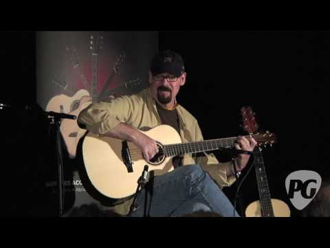 Montreal Guitar Show '10 - Bill Tippin Guitars played by Peter Janson