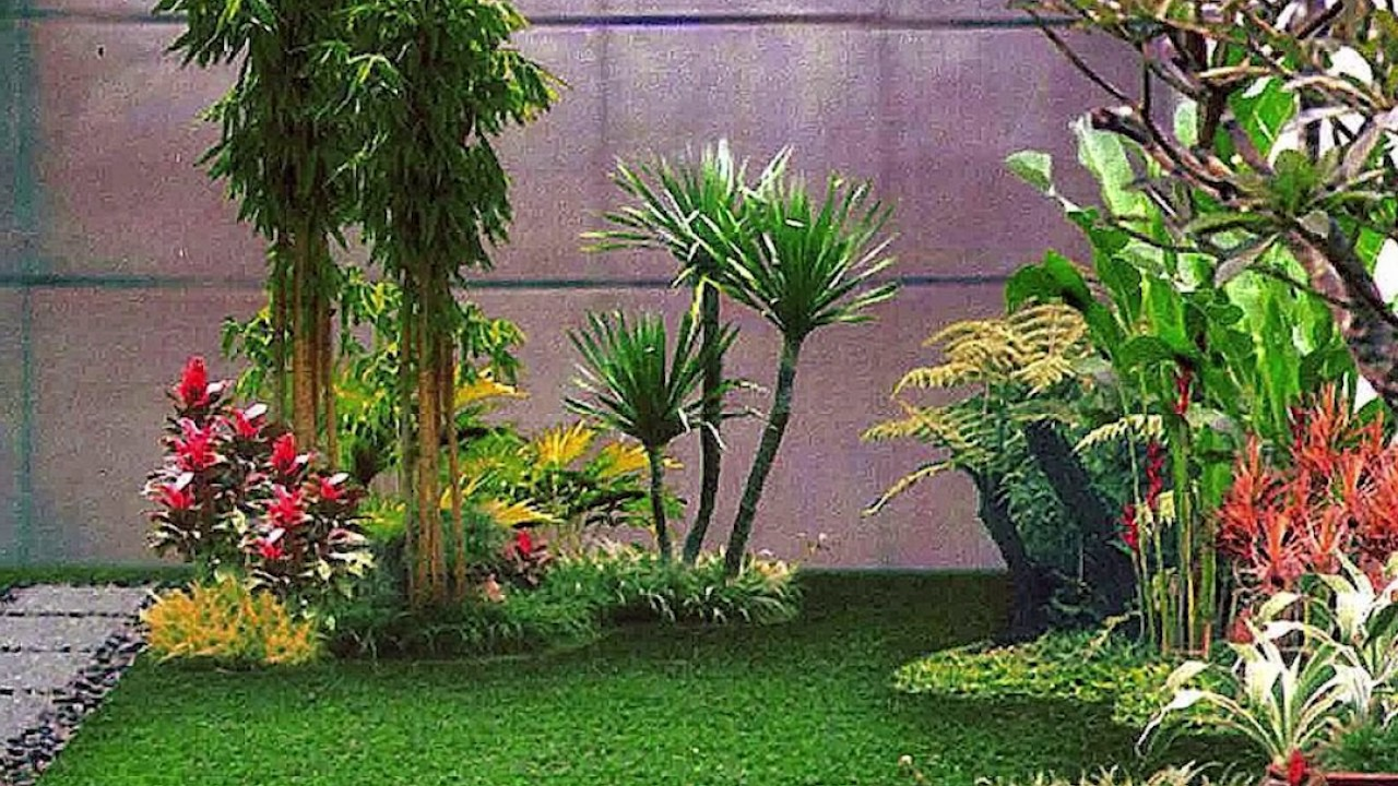 20 Desain Taman Dalam Rumah Minimalis 2017 Paling Keren YouTube