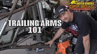 TRAILING ARM Suspension Explained with Jake Burkey - ROCK RODS TECH