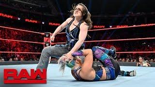 Dana Brooke vs. Nikki Cross – Beat the Clock Challenge Match: Raw, July 8, 2019