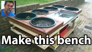 How To Potting Bench DIY Multi Purpose