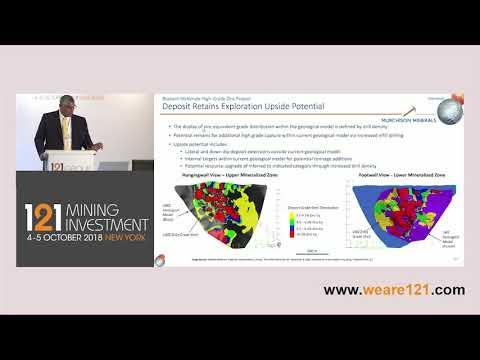 Presentation: Murchison Minerals - 121 Mining Investment New York October 2018