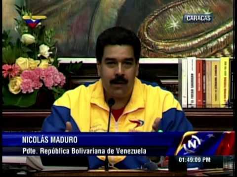 VIDEO: Nicolás Maduro anuncia el próximo lanzamiento de la Misión Nevado