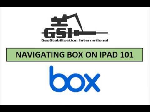 Navigating Box on iPad 101 thumbnail