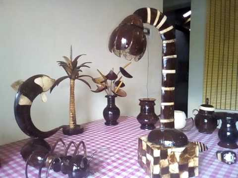 Kerala tourism's and coconut shell product's