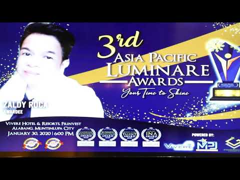 VIVERE HOTEL & RESORTS - 3RD ASIA PACIFIC LUMINARE AWARDS