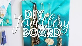 DIY Jewellery Board