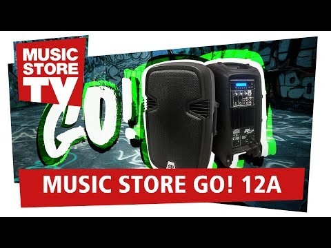 MUSIC STORE GO! 12A Multimedia Aktiv Speaker – mobiles PA System zum kleinen Preis